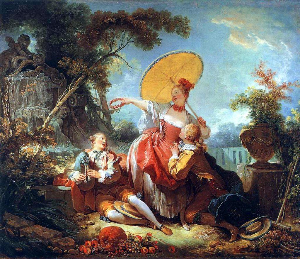 フラゴナールってどんな画家 代表作品の ぶらんこ などを簡単解説